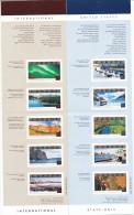 CANADA Mi. Nr. 2064-2073 Tourismus Markenheftchen 0-273,0-274  - MNH - Ganze Markenheftchen