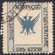 Albania, Korca, 25 C 1917, Sc # 59, Mi # 8, Used - Albania