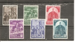 Vaticano Yvert Nº 293-98 (MH/*) - Vaticano (Ciudad Del)