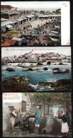 3 X PALESTINE - JAFFA --- Bazar - Vue - House Of Simon - Palestine