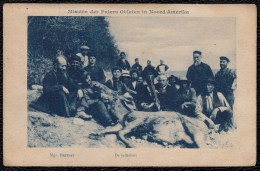 DEER HUNTING IN NORTH AMERICA - MISSIONARY ( Oblats Marie Immaculée ) - LA CHASSE AU CERF EN AMERIQUE DU NORD - Caza