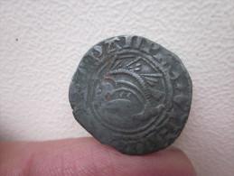 Liard Du Dauphiné De Charles VII De L´atelier De Crémieu/ Croix Et Dauphin - 476-1789 Monnaies Seigneuriales