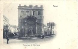 NORD PAS DE CALAIS - 62 - PAS DE CALAIS - ARRAS - Précurseur - Carte Molle - Fontaine De Neptune