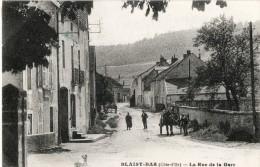 BLAISY BAS La Rue De La Gare - Autres Communes