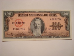 CUBA - Paire De Billets De 100 Pesos 1959 - état Neuf - UNC - - Cuba