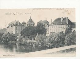 Ebreuil église Hospice Pensionnat Cpa Bon état - Frankreich