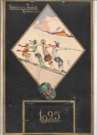 CALENDRIER 1925 - Filatures De LA REDOUTE - ROUBAIS - Calendriers