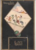 CALENDRIER 1925 - Filatures De LA REDOUTE - ROUBAIS - Big : 1921-40