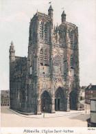 ABBEVILLE (Somme) - L'Eglise Saint-Vulfran - Au Dos Publicité Pour Le CACAO VAN HOUTEN - - Abbeville