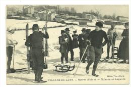 VILLARS DE LANS- Skieurs Et Lugeurs Aux Sports D'Hiver - Villard-de-Lans