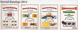 Zusammendrucke Markenhefte+Abarten DDR Katalog 1-4 RICHTER 2014 Neu 100€ Se-tenant Booklets Special Catalogue Of Germany - Old Paper