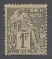 Colonie Française  N° 59 Neuf * Gomme D'Origine  TB - Alphee Dubois