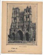 PROTEGE-CAHIER - AMIENS La Cathédrale - Protège-cahiers