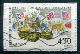 France 1994 - YT 2888 (o) Sur Fragment - Frankreich