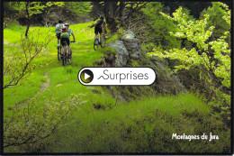 """SPORT - Balade En VTT Parcours De La Forestière Montagnes Du Jura  """"SURPRISES"""" V.T.T (vélo Bicyclette Bicycle Cycle) - Cycling"""