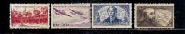 N°  539/42 (état: X) - Unused Stamps