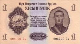 MONGOLIE   1 Tugrik   Emission De 1955   Pick 28       ***** BILLET  NEUF ***** - Mongolie