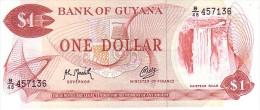 GUYANA  1 Dollar  Non Daté (1992)   Pick 21 G   Signature 9            ***** BILLET  NEUF ***** - Guyana