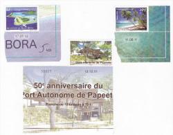 Polynésie Française / Tahiti - 3 Timbres Neufs Datés De 2011 Et 2012 - Polynésie Française