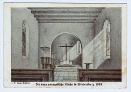 57g13CpmSARREBOURG Die Neue Evangelische Kirche In Wintersburg 1939 - Sarrebourg