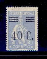 Portugal - 1928 Ceres With OVP 40 C (Perf. 15x14) - Af. 475 - MLH - Nuevos
