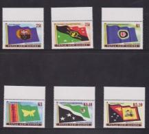 Papua New Guinea 2005 Provincial Flag Series III Set 6 MNH - Papua New Guinea