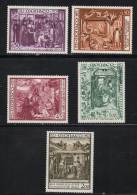 Monaco Timbres Neuf ** De 1973   N° 934 Au N°938 Tableaux - Monaco