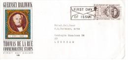 Guernsey - FDC 2-6-1971 - Thomas De La Rue - - Guernesey