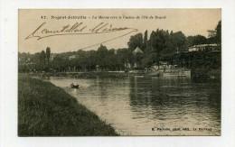 CP , 94 , NOGENT-JOINVILLE , La Marne Vers Le Casino De L'Ile De Beauté - Autres Communes