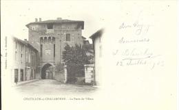 01 - CHATILLON-SUR-CHALARONNE - Ain - La Porte De Villars - Châtillon-sur-Chalaronne