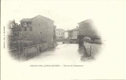01 - CHATILLON-SUR-CHALARONNE - Ain - Vue Sur La Chalaronne - Châtillon-sur-Chalaronne