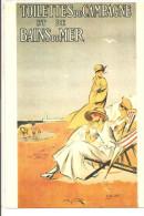 PUBLICITE  -lot De 2 Cartes -CORSET BALEININE -  Incassable  +Toilettes De Campagne Et Bains De Mer - Publicité