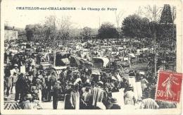 01 - CHATILLON-SUR-CHALARONNE - Ain - Le Champ De Foire - Châtillon-sur-Chalaronne
