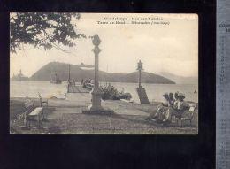 CPA (OM) Guadeloupe  -  Iles Des Saintes -  Terre De Haut  -  Débarcadère  -  Mouillage - Andere