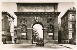MONTPELLIER   Carte Photo Arc De Triomphe  1943  Automobile... - Montpellier