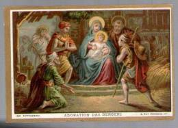 Image Pieuse Holy Card Chromo ? - Imp Petithenry N.T. 11 - Adoration Des Bergers - Andachtsbilder