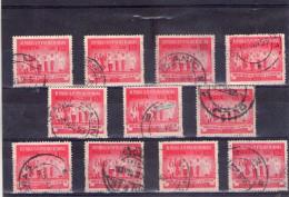 1952 -  CONSEIL DE L´UNION INTL. DES ETUDIANTS A BUC  MI No1407 Et Yv 1279 LOT X 11 - 1948-.... Republiken