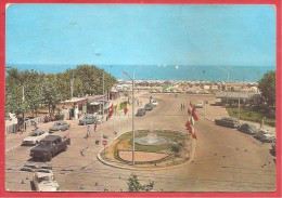 CARTOLINA VG ITALIA - BELLARIVA - RIMINI  - Piazzale Gondar - 10 X 15 - ANNULLO TARGHETTA RIMINI 1968 - Rimini