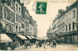 14 - Honfleur : La Place Hamelin - Honfleur