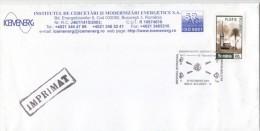 ATOM ENERGY, INTERNATIONAL SYMPOZIUM,  SPECIAL POSTMARK ON COVER, 2003, ROMANIA - Atomo