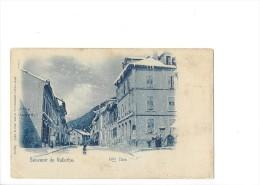 9251 - Souvenir De Vallorbe Grande Rue En Hiver - VD Vaud