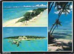 Maldiven - Beach - Island - Nice Stamp - Maldiven