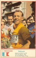 Joseph Groussard édité Par Miroir Sprint Carte 9x14,3 Cm Très Bon Etat - Wielrennen
