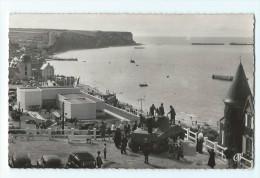 Arromanches-les-Bains - Port De La Libération. Perspective De La Plage Et Du Musée - CPSM Petit Format - Arromanches