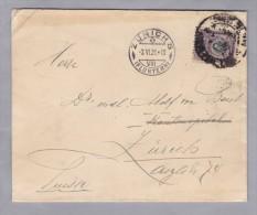 Peru 1921-?-? LIMA Brief Nach Zürich Mit Mi#189 - Pérou