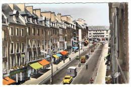 61- Flers De L'orne -rue Du 6 Juin Vers Le Jet D'eau - Flers