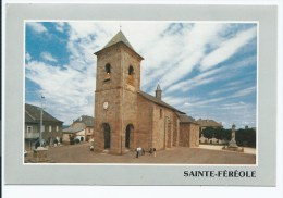 Van@ CP STE SAINTE FEREOLE ANIMEE, CORREZE 19 - France