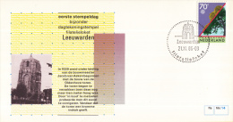 Nederland – FDC - Eerste Stempeldag Filatelieloket - Leeuwarden - 21 November 1986 – Nummer 14 - Postal History