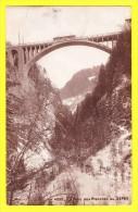* Sepay (VD Vaud Switserland - Schweiz - La Suisse) * (JJ 4099) La Pont Des Planches Au Sepey, Bridge, Tram, CPA, Rare - VD Vaud