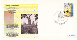 Nederland – FDC - Eerste Stempeldag Filatelieloket - Wijchen - 26 Mei 1987 – Nummer 35 - Postal History